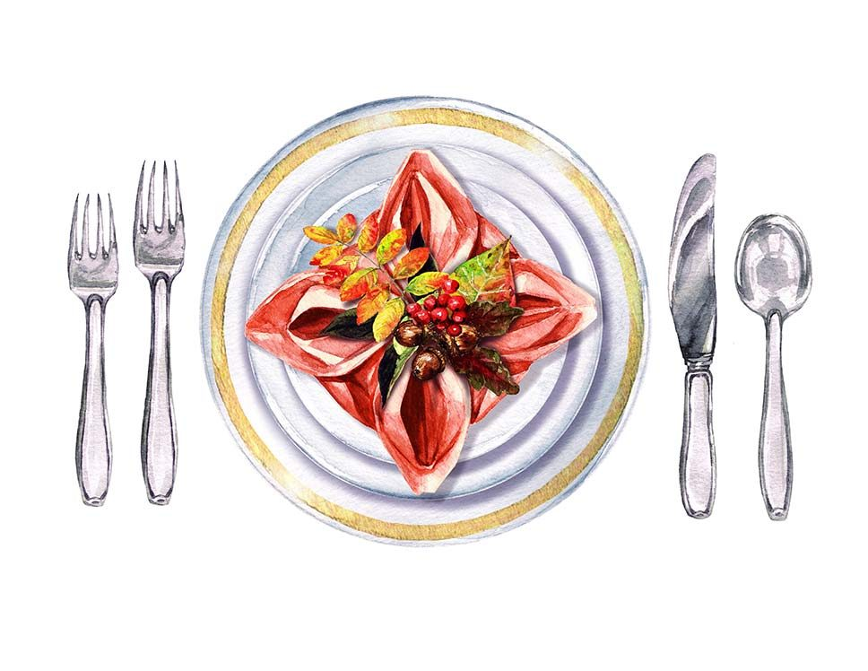 Semi-Formal Table Settings Table Settings House Cleaning Services Kansas City